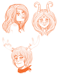 Head Busts by MissPomp