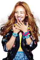 Hyoyeon (SNSD) Casio png [render] by Sellscarol
