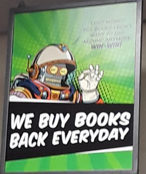 Bender look-alike poster from my college bookstore by MikuChanFan39