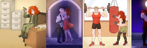 Sam and Lizzie Timeline by Foxy-Knight