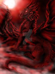 King of the Blood Red Moon by WhiteWolfMystic