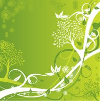 Green-Floral-Background by vectorbackgrounds