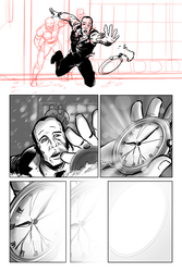 Out of Time-Page 7-8 (Rough-Ink 2) by Madmonkeylove