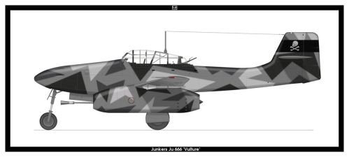 Junkers Ju 666 by PsykoHilly