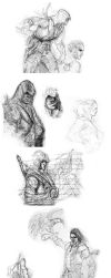AC3 Sketches by WaleVale