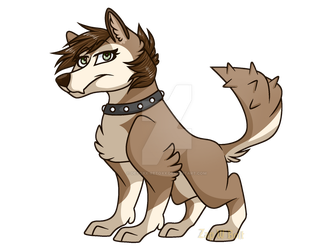 Commission: aaronthewolf436 by ZapWBolt
