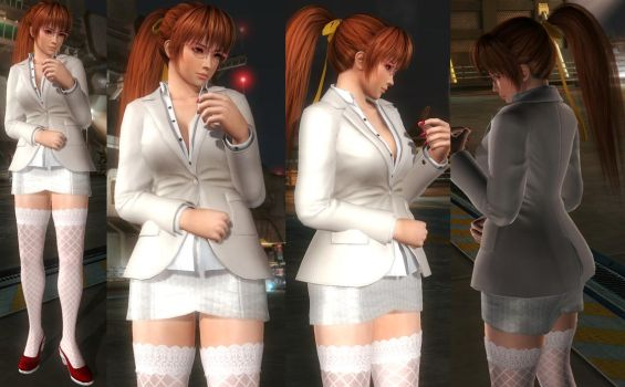 Kasumi Office by funnybunny666