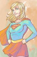 Supergirl by Cairos