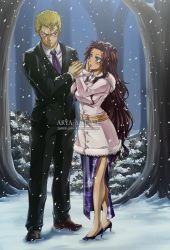 Laxus x Neirah - Marriage proposal by Arya-Aiedail