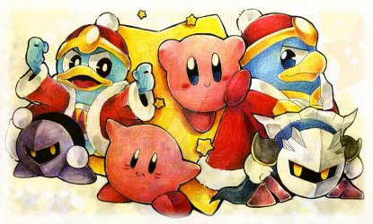 KBY-Kirby's 20th Anniversary by Mikoto-Tsuki