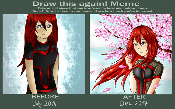 Draw This Again ! by LarraLy