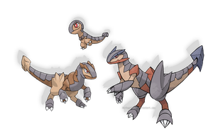 Raptor Fossils by ForiegnBacon