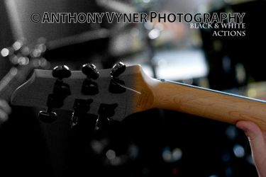 Black and white actions by AnthonyVyner