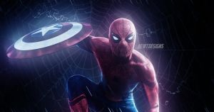 Spider-Man in Captain America: Civil War by NewtDesigns