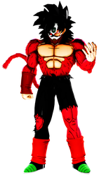 DBXV2-Bardock ssj4 masked (Full Power) by MrTermi988