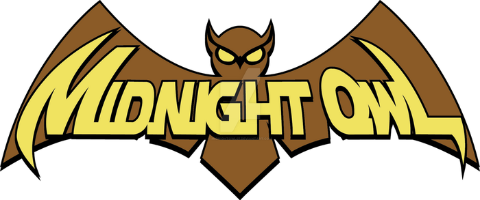 Midnight Owl official logo (by Eric N. Bennet)