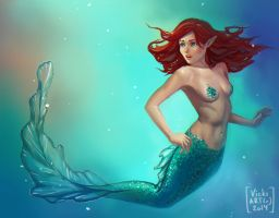 Mermaid by Vicki-N