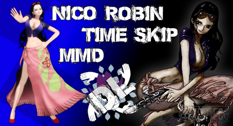 MMD One Piece Nico Robin (Time Skip) DL (Updated) by Friends4Never