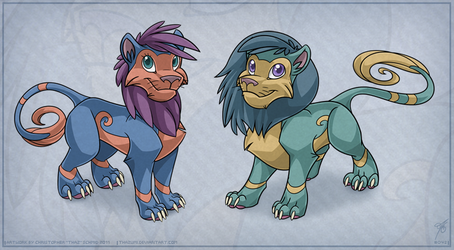 OviPets Feline Species by thazumi