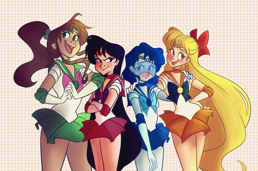 Sailor Scouts by snarkies