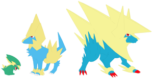 Electrike, Manectric and Mega Manectric Base