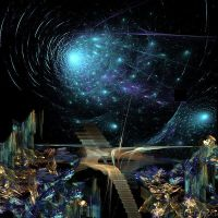 Stairway to the Stars by fractaldreamer