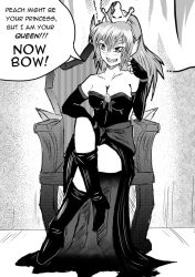 Bowsette is Queen by u-007