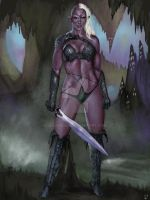 Drow Dark Elf Warrior