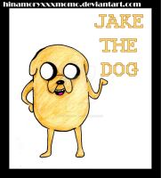 Jake the dog by momosdoodles