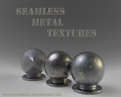Seamless Metal Textures by feniksas4