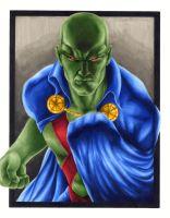 Martian Manhunter by smlshin