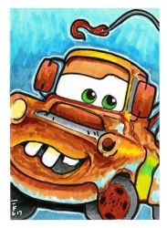 Cars Mater by Fitzufilms