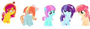 .:ADOPTS:. Light Locket Pony Adopts [CLOSED] by liME-GOO