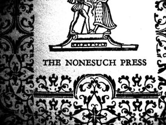 Nonesuch Press by Billyca1421