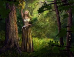 Herbalist by sillver-lady