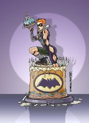 a cake for batman by marcelopont