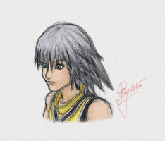 Sketch - Riku by BillieJean485