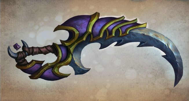 Draenor sword by FirstKeeper