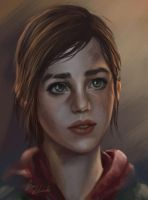 The Last of Us Ellie by feavre