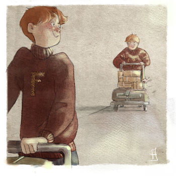 Fred and George by Eirwen980