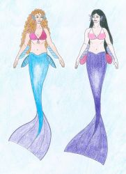 Siren Sorority: Cassie and Maddie by Nate-Walis