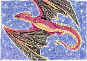 Day 3: (7-days challenge): Mythical creature by Light-Lein