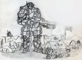 mech on standby by chaos-sandwhich