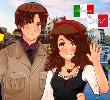 APH: Romano and Malta by SaMelodii