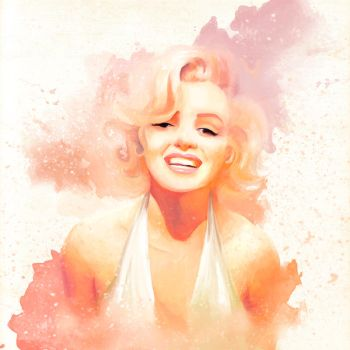 Marilyn Smile by MariChan27