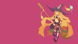 Witch and Hundred Knight - Metallia wallpaper by Carionto