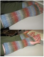Soft and fuzzy armsocks by StarTyrian