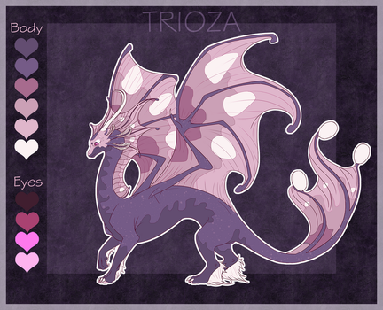 Butterfly Dragon Auction [CLOSED] by Trioza