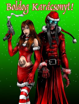 Bloodlust Christmas 2011 by BloodlustComics