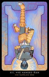 Planescape: Tarot. XII. The Hanged Man by alphyna